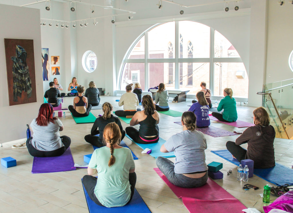 Uncorked Yoga and Wine
