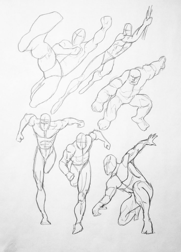 Studio 51: Comic Book Creation – Characters in Motion