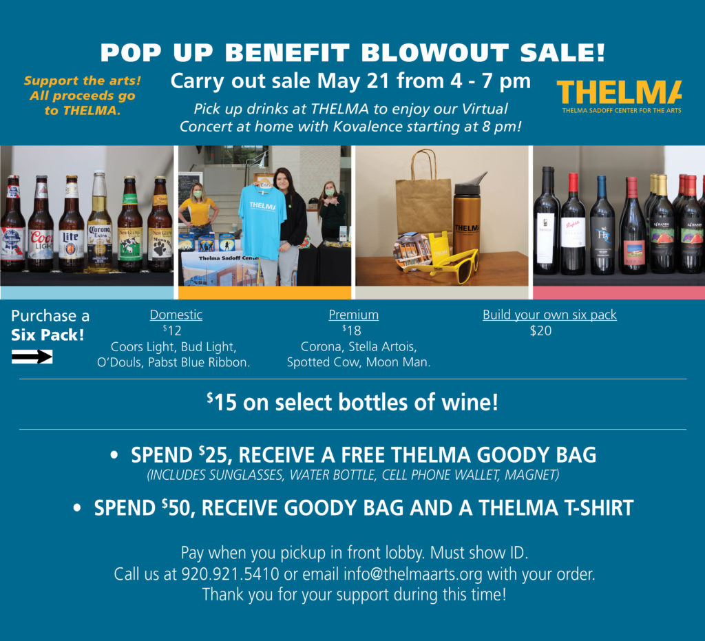 Pop Up Blowout Benefit Sale